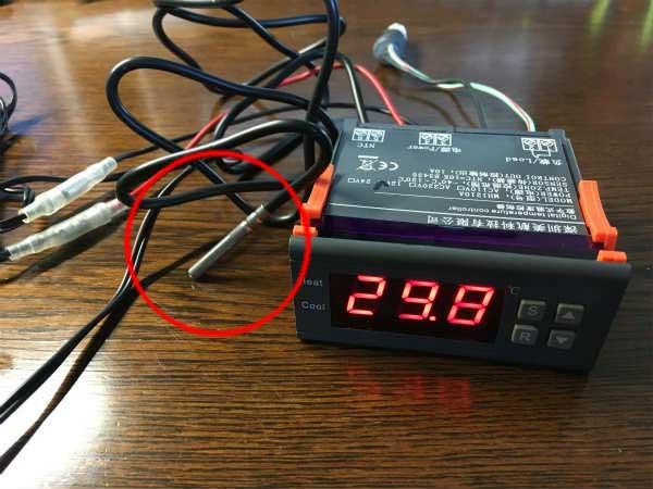 NSR250R ラジエターファン増設 デジタル制御 10